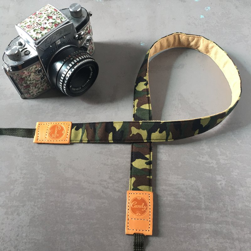 Camo Green  Mirrorless camera Strap