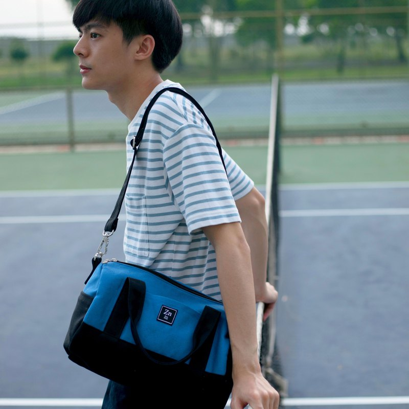 Barrel Bag / ZINC - ESCAPE / BLUE - BLACK (ZN170703)