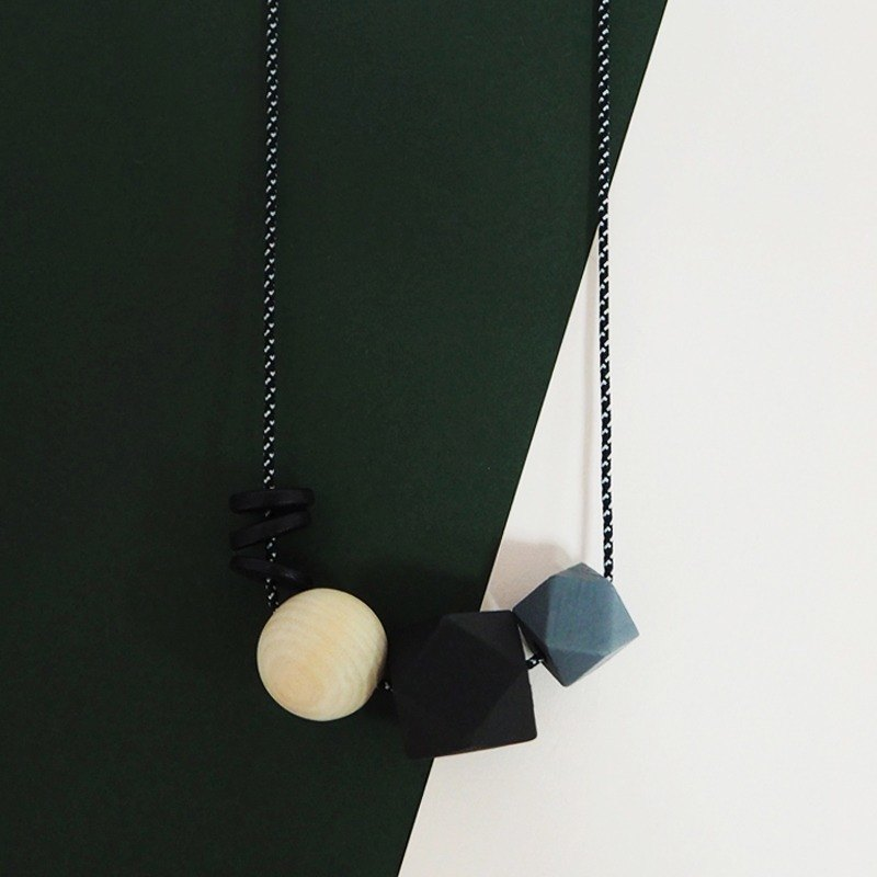 The Geometric Series Necklace – Ashley II by unit515