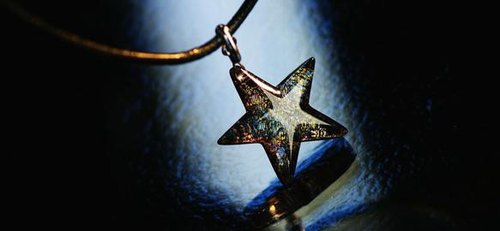 Sparkling BLACK STAR