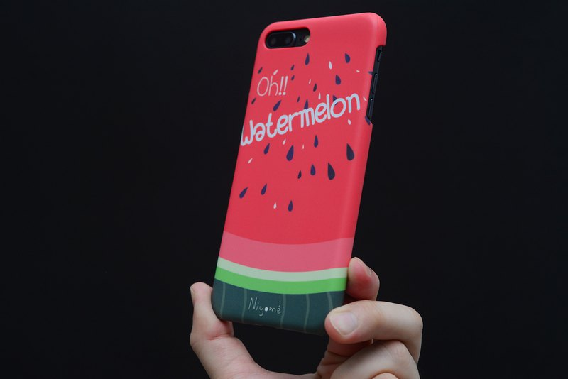 iphone case Red watermelon for iphone5s, 6s, 6s plus, 7, 7+, 8, 8+, iphone x