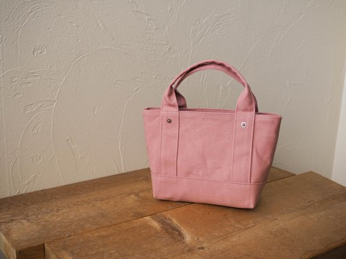 Paraffin canvas only Tote Chibi size (Ash rose)