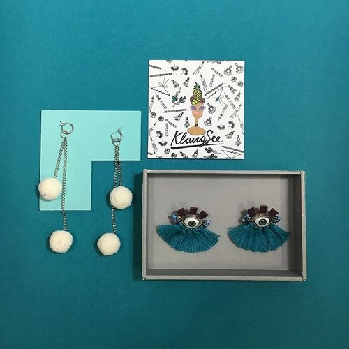 earrings : 2nd tribal ball + Mong-Rang (eyes)