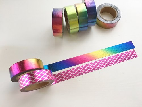 Set of 2 Galaxy Sparkle Washi Tape Value Pack