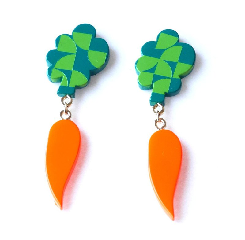 Carrots pierces/earrings