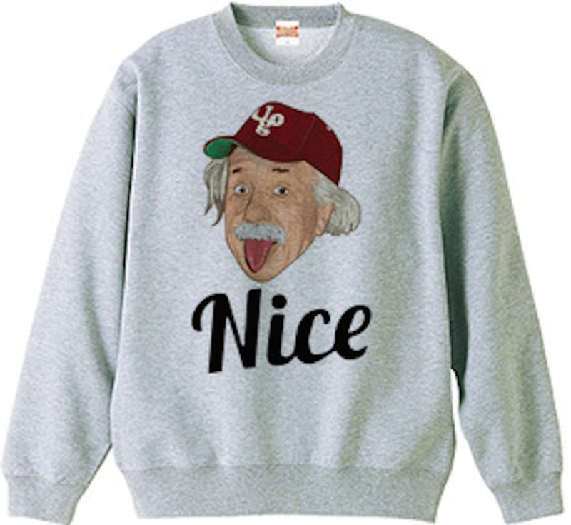 Einstein nice sweat gray