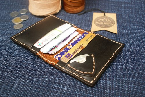 Guitar Pick Billfold Wallet Leather Personalized gifts for him,men's custom,