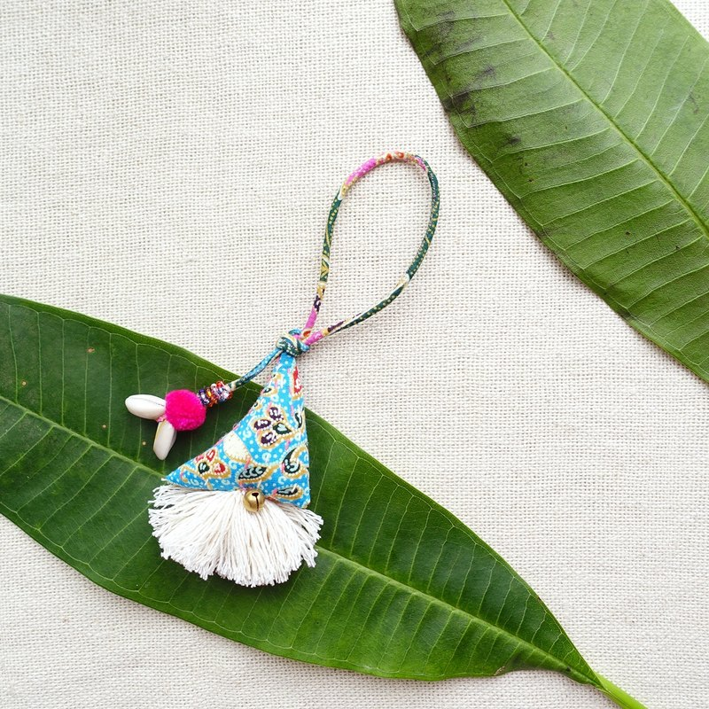 DUNIA世界制造所 /Samosa bag charms/ 金三角吊饰#3