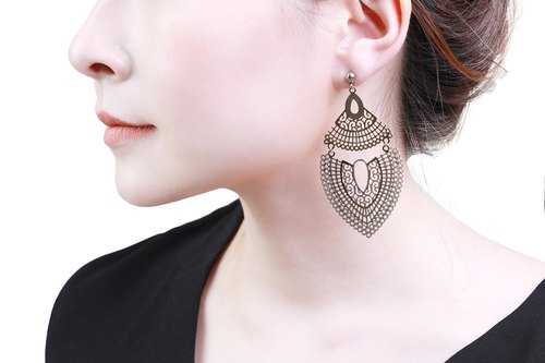 Maya Gold Earrings
