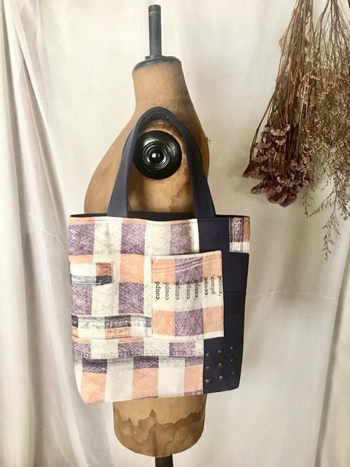 vintage remake totebag  tf-327