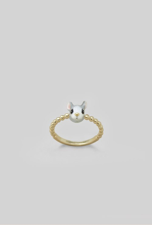 Rat Ring - Chinese zodiac animals. Sign - Zign Collection , 鼠年