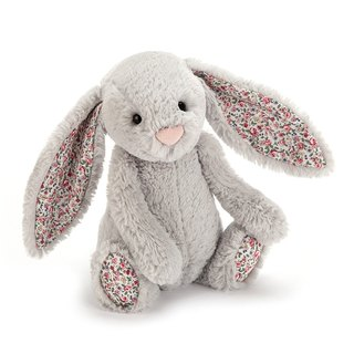 Jellycat Blossom Silver Bunny 碎花银 18cm