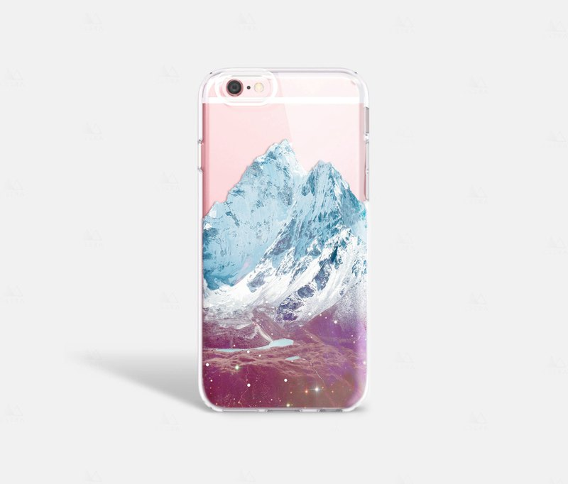 Mountain iPhone 7 Case Clear iPhone 8 Case iPhone 7 Plus Clear Case iPhone 6S