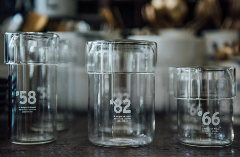 D&L Glass Tumblers (直径82)