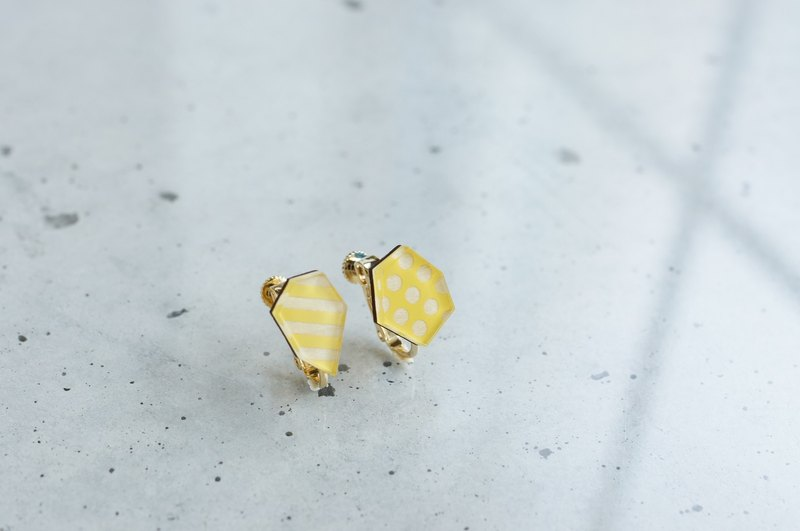 Fragrance earrings / yellow
