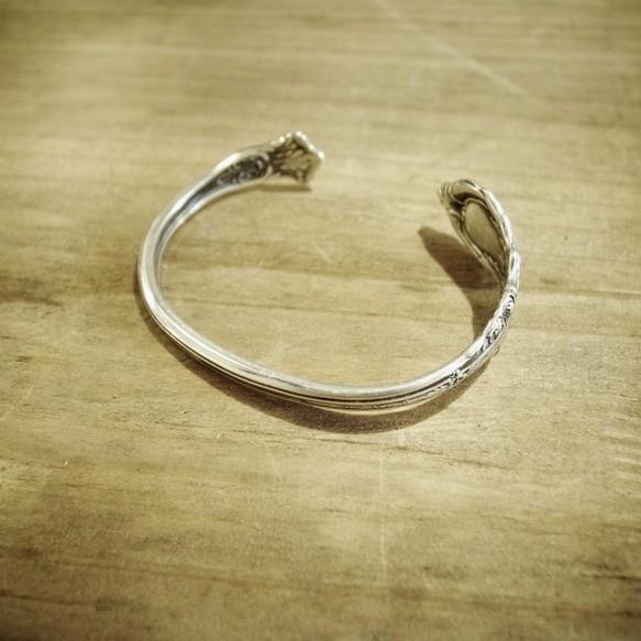 Antique spoonf remake bangle _ 0550