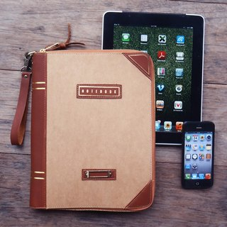 Take Note iPad&iPhone sleeve: brown
