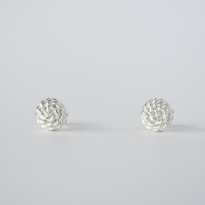 ki-ichi earrings (S) = silver 950 earrings =