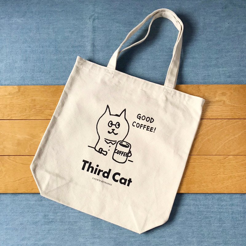 Third cat Tote M [GOOD COFFEE]