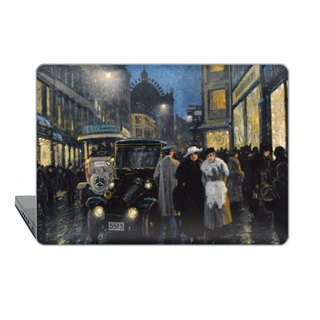 Macbook case Pro 15 TB 2016 Impressionism MacBook Air 13 Case Night street Macbook 11 Macbook 12 Macbook Pro Retina classic art Case Hard 1704