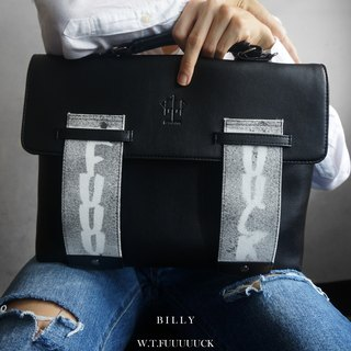 'BILLY' Messenger Bag (W.T.FUUUUUCK Limited Edition)
