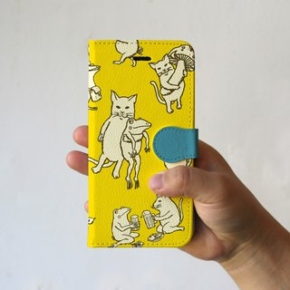 iPhone cover · notebook type Nakama Yellow