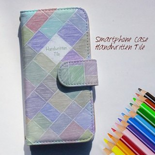 【All models supported】 Free shipping 【Handbook type】 Handwritten tile smart case