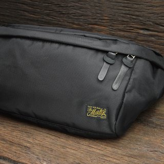 "【METALIZE】""CASUAL DAY"" Waist Bag 高密度尼龙腰包(黑色)"