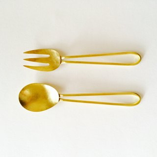 Spoon and fork set  Small
