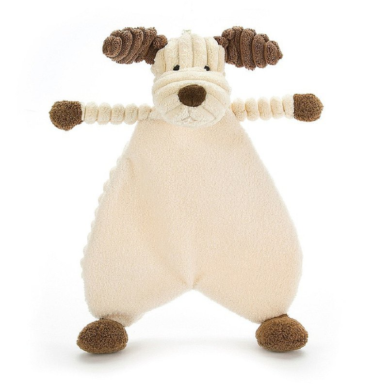 Jellycat Cordy Roy Puppy Soother 狗狗安抚巾 约23厘米