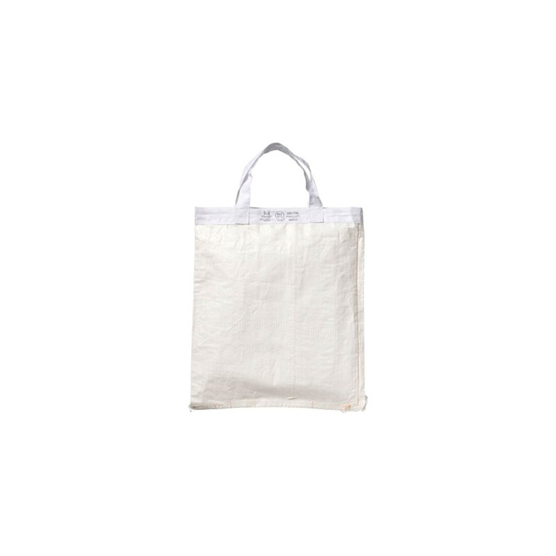 SHOPPING BAG White 42 x 39  环保购物袋42x39-白色