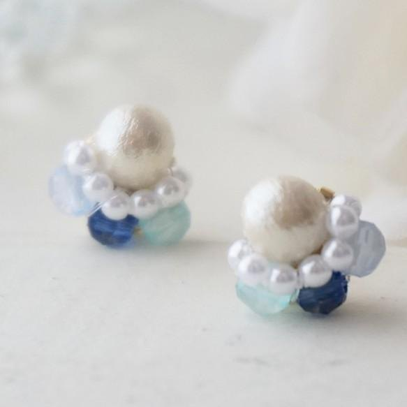 Coron colon *-゜゚ mini earrings / earrings
