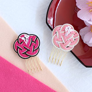 japanese style hair accessory / mizuhiki / japan / traditional / flower / cute