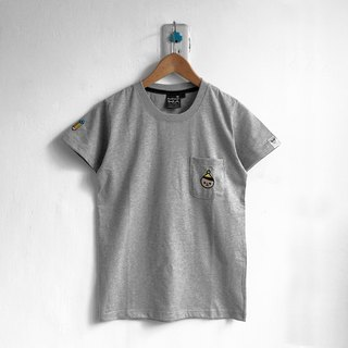 【BestFriend】Young BoyFriend Pocket T-Shirt / 04-GRAY