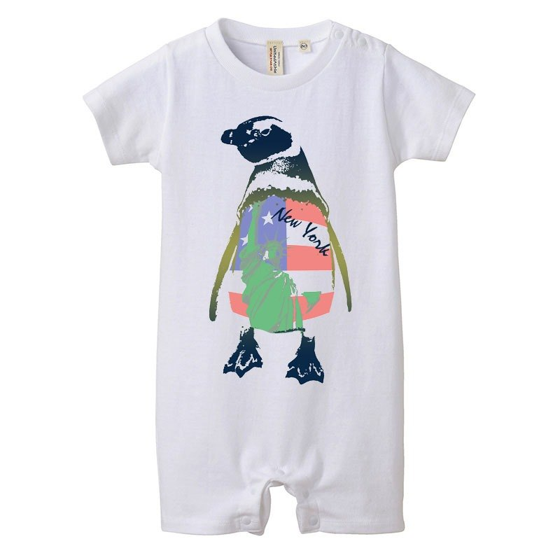[Baby rompers] NY Penguin