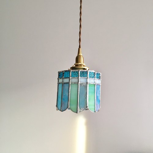 Pendant Light Dreaming Night Green Blue Bayview