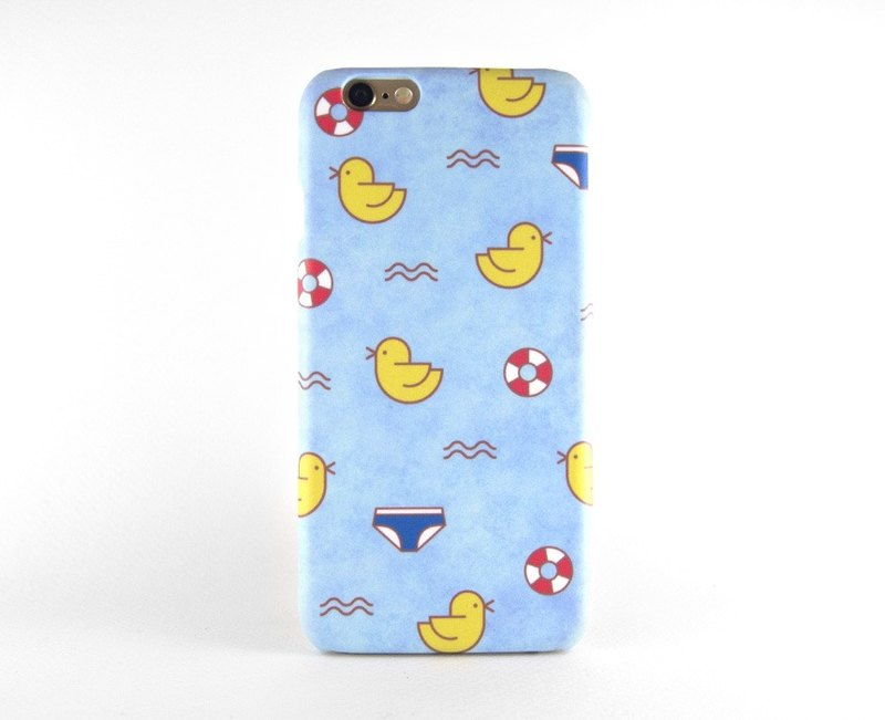 Baby ducks taking a bath iPhone case / Samsung Galaxy case 手機殼