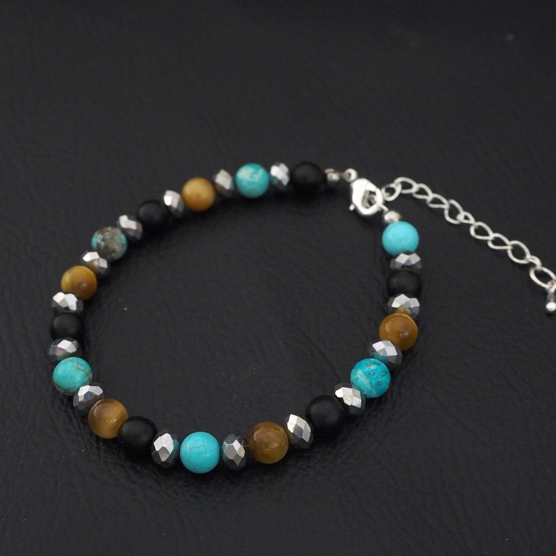 Lucky Natural Stone Beads bracelet  ,Stone beads jewelry