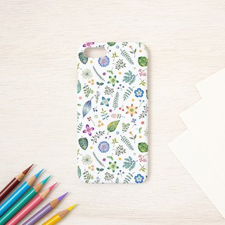 "Multicolored in Japanese. Smartphone case ""Asan color"" SC-399"