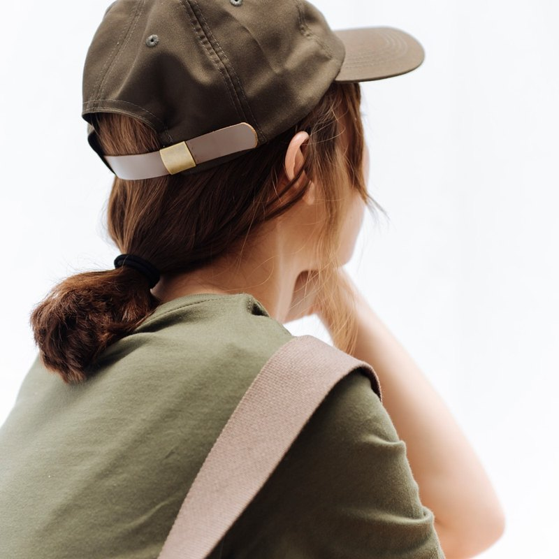 hao Olive Green Ball Cap 橄榄绿老帽