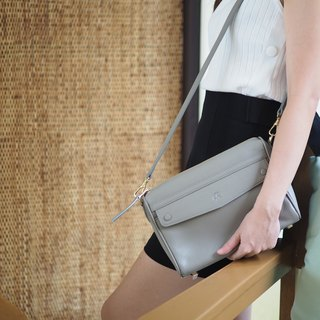 Grace : Taupe, Crossbody bag, everyday bag, clutch