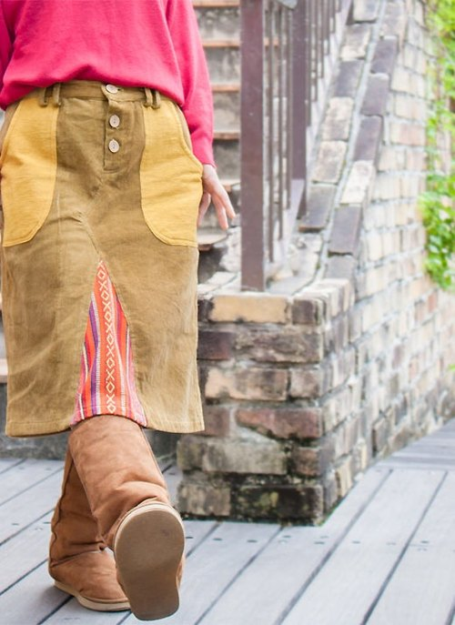 ☆ Hammock ☆ 彡 Hammock Native Corduroy Skirt