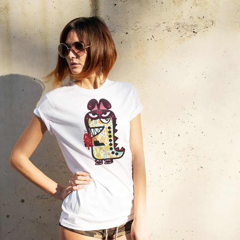 Rawr the Tee-Rex and the Chinese Zodiac Tees - Rabbit