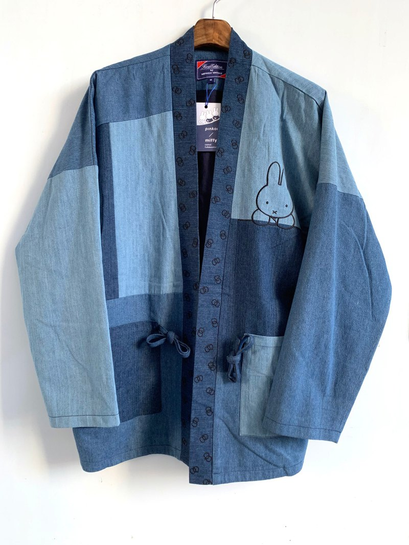 Miffy x First Edition 蓝色牛仔布Kimono --港、台、澳限定