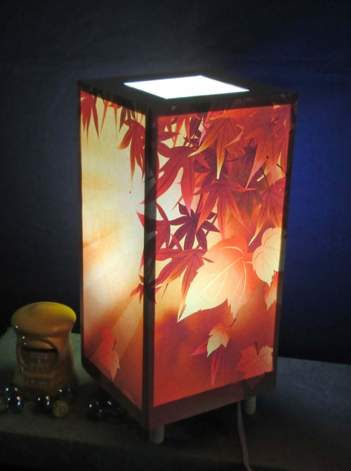 Dusk of Late Autumn · Shilla All-in-One Medium Form · LED Dream Lighting Decorative light stands the real pleasure!