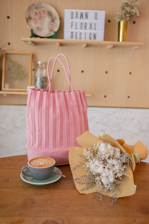 aPacklet (Regular) Tote Bag in Rose Pink