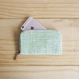 Check Pattern Flower Brooch with I-Phone 6 Plus case