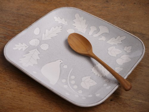 Pottery Forest Picture Plate (Large)