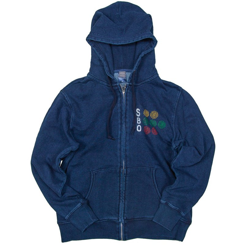 Baseball 2S 3B 2O Denim Sweat Zip Parka Unisex S to XL Size Tcollector
