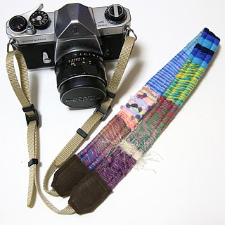 10/5 resale · yarn camera strap # 24
